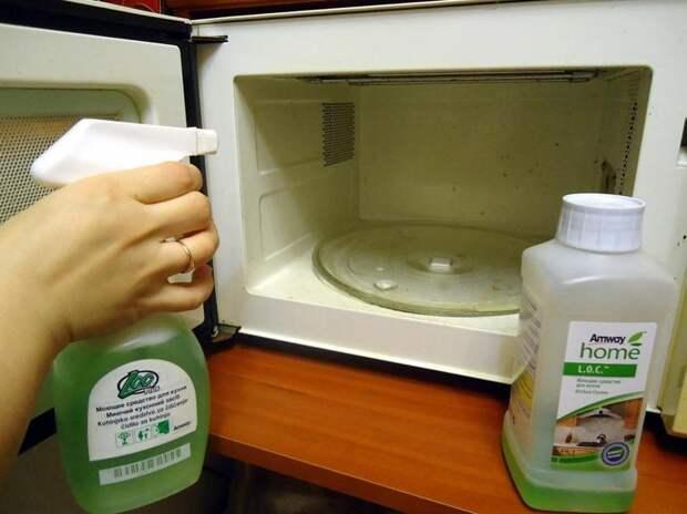 Моющее средство для очистки микроволновки от жира