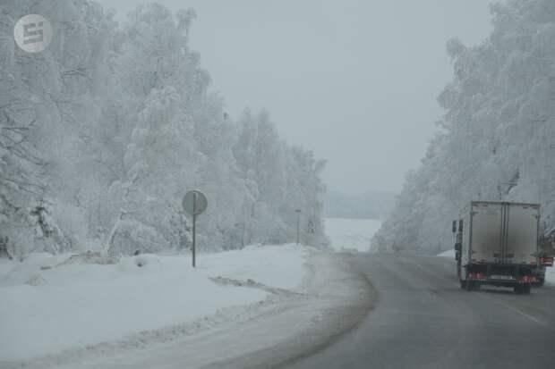Водителей предупредили об ухудшении погодных условий в Удмуртии