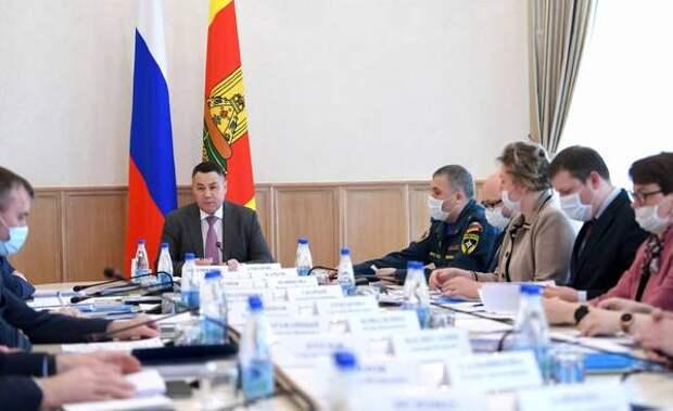 Игорь Руденя Необходимо равномерно развивать всю территорию Тверской области