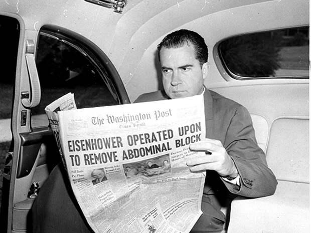 Ричард Никсон. Фото: Bill Achatz/ AP Photo