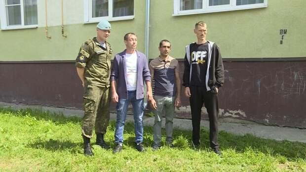 Российские мужчины-герои, спасшие детей от огня.