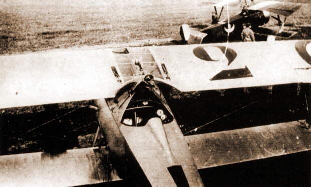 Гинемер осматривает только что собранный «Ньюпор»-17 N1531. Это первый из истребителей аса, получивший тактический номер и эмблему эскадрильи. Из дополнительных обозначений у него был раскрашенный в цвета кокарды кок винта и вымпел с надписью «Старый Шарль» на стойке крыла - Самый известный «Аист» | Военно-исторический портал Warspot.ru