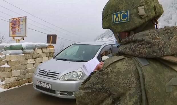В Нагорном Карабахе восстановлено перемирие