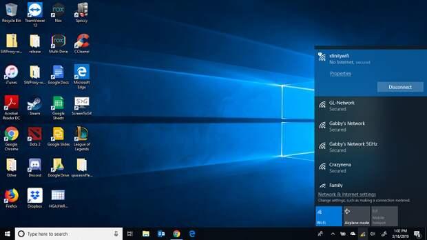 В Windows 10 появились проблемы с интернет-соединением. Microsoft работает над патчем