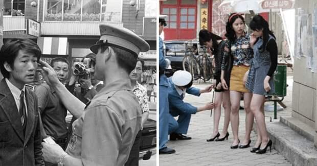 Замеры длины юбок, принудительные стрижки и «клетки позора»: будни Южной Кореи в 70‑х