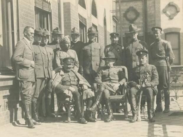 Лидеры интервентов во Владивостоке