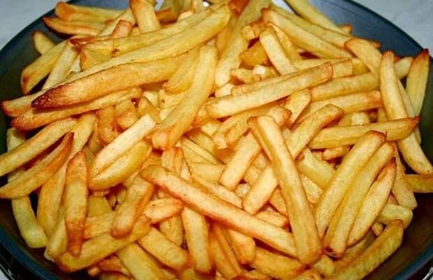 Готовлю картошку фри без масла, жира и яичных белков. Получается вкусно и полезно