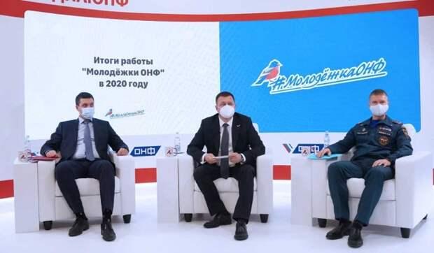 """""""Молодежка ОНФ"""" помогла тысячам людей в 2020 году"""