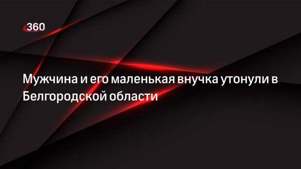 Мужчина и его маленькая внучка утонули в Белгородской области