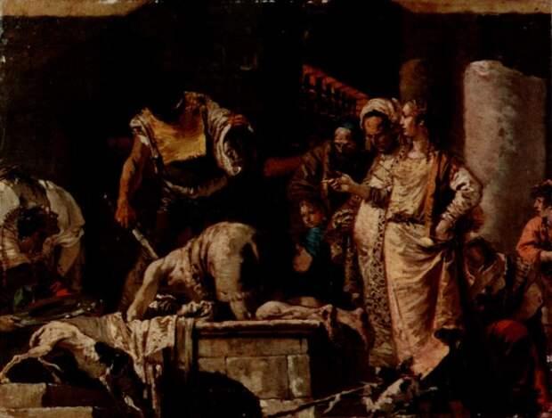 Джованни Батиста Тьеполо. Усекновение главы Иоанна Предтечи