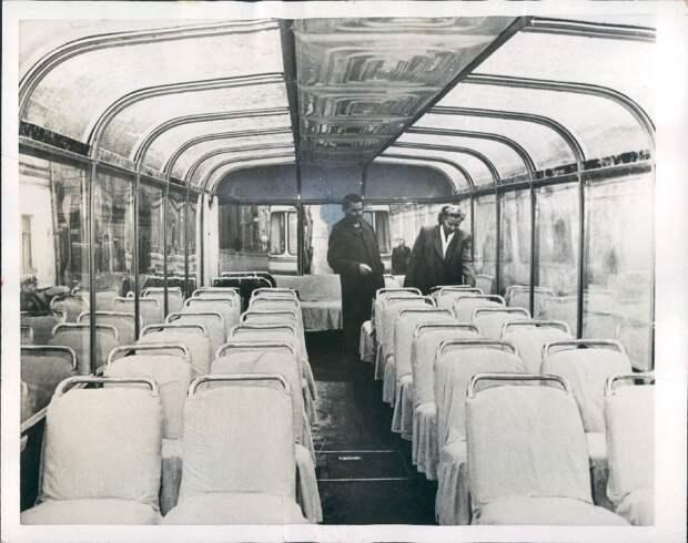 1955. Москва. Новый уникальный троллейбус