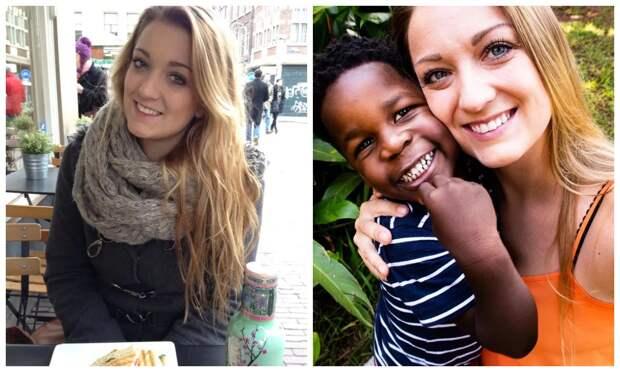 «Мне пришлось оставить своего бойфренда»: как юная британка стала матерью для малыша из Уганды