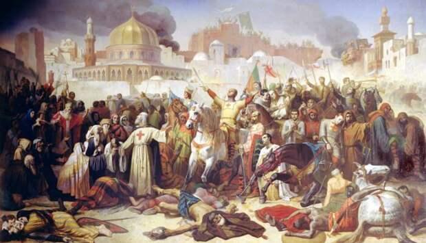 Папа Урбан II — Вдохновитель крестовых походов. \ Фото: reddit.com.