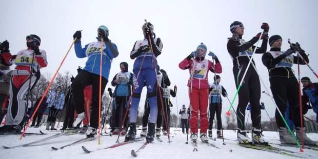 Лыжники из Войковского взяли 2-е место на окружных гонках