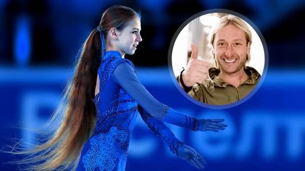 «Плющенко— настоящий человек ивеликий спортсмен». Трусова впервые лично прокомментировала уход отТутберидзе