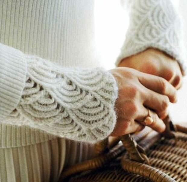 Рукава и манжеты подборка