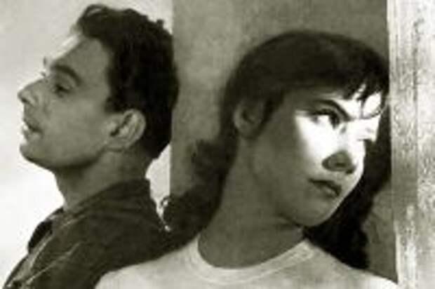 Татьяна Самойлова и Алексей Баталов. «Летят журавли», 1957 год.
