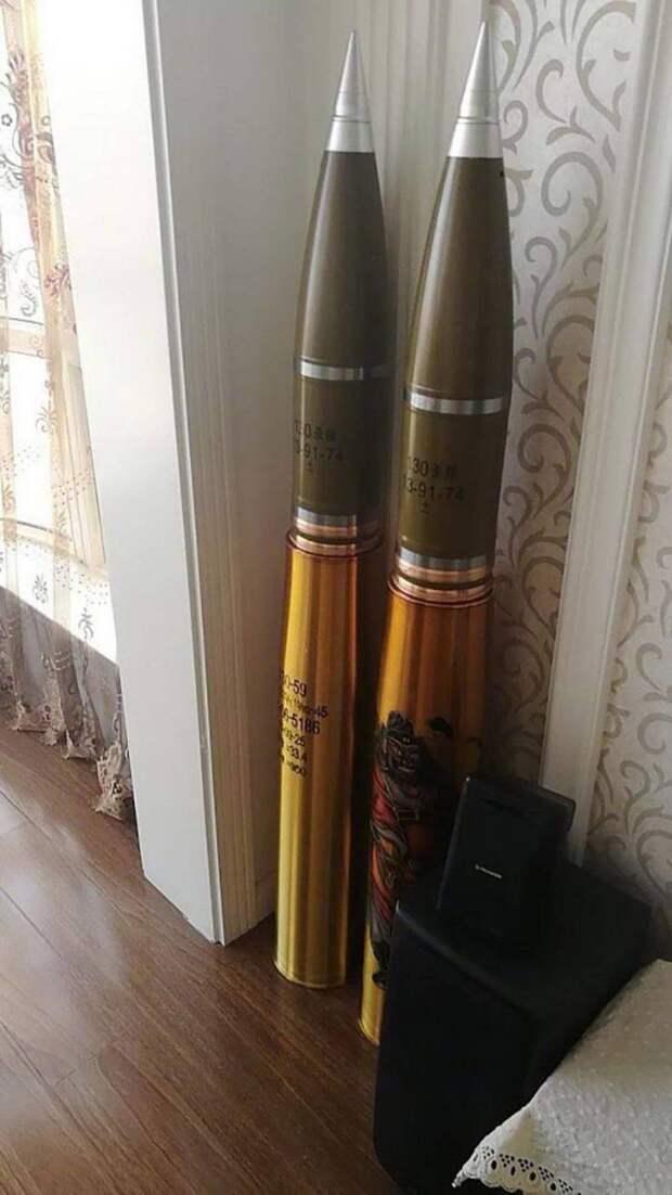 Ракеты в качестве декора дома