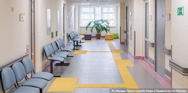 Собянин рассказал о завершении комплексной реконструкции еще 4 поликлиник. Фото: М. Мишин mos.ru