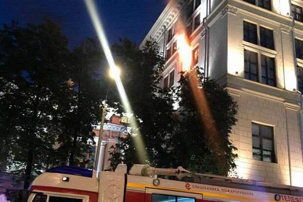 Пожар в ЦБ РФ