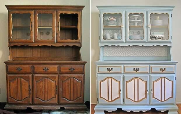 Идеи декора, которые помогут преобразить старую мебель до неузнаваемости