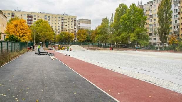 Когда откроют новый стадион в симферопольской школе №15 – власти
