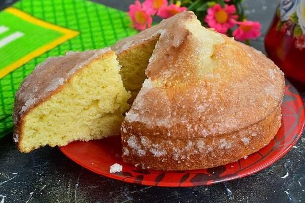 Турецкий пирог «Ревани» — нежный и воздушный