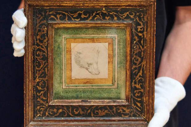 Карандашный набросок Леонардо да Винчи ушёл с молотка за $12,2 млн