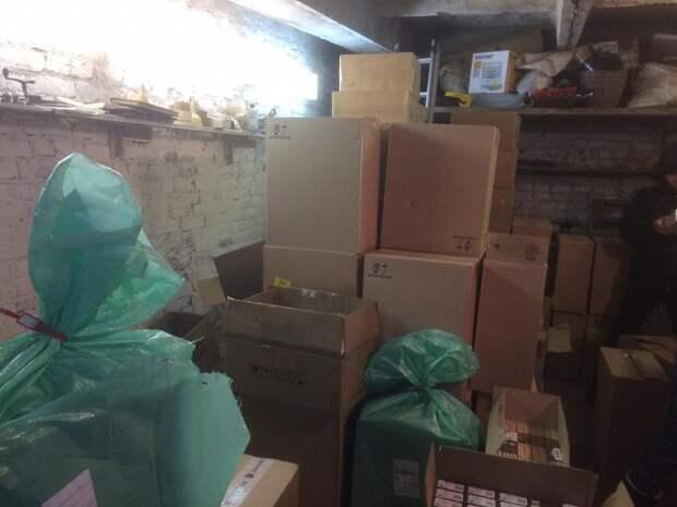 110 тыс пачек сигарет с поддельными акцизами изъяли у жителя Удмуртии