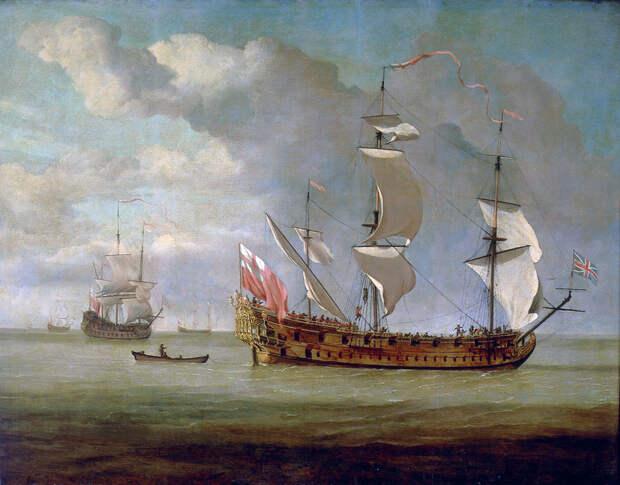 Британские корабли у французского побережья - Великие крейсерские войны. Франция против Аугсбургской лиги   Военно-исторический портал Warspot.ru