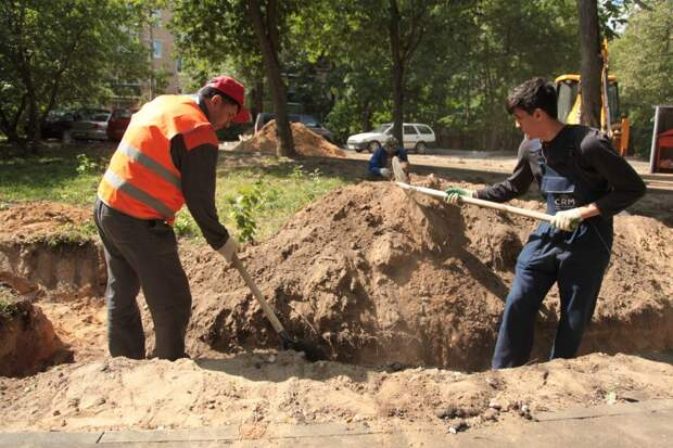Сквер на Коптевском бульваре благоустроят до конца августа