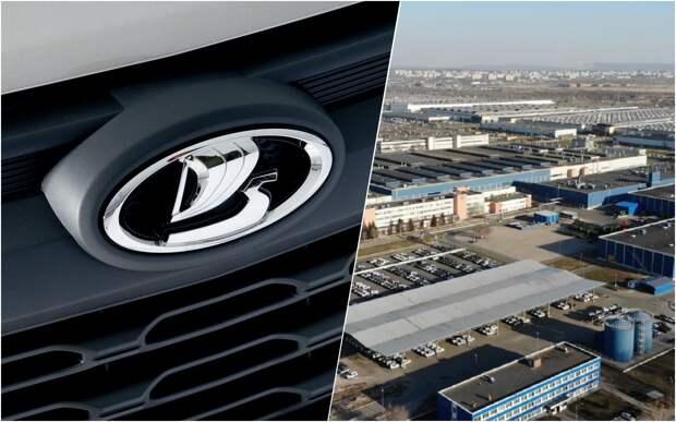 Десятки новых Niva Travel: завод по производству внедорожников засняли с дрона