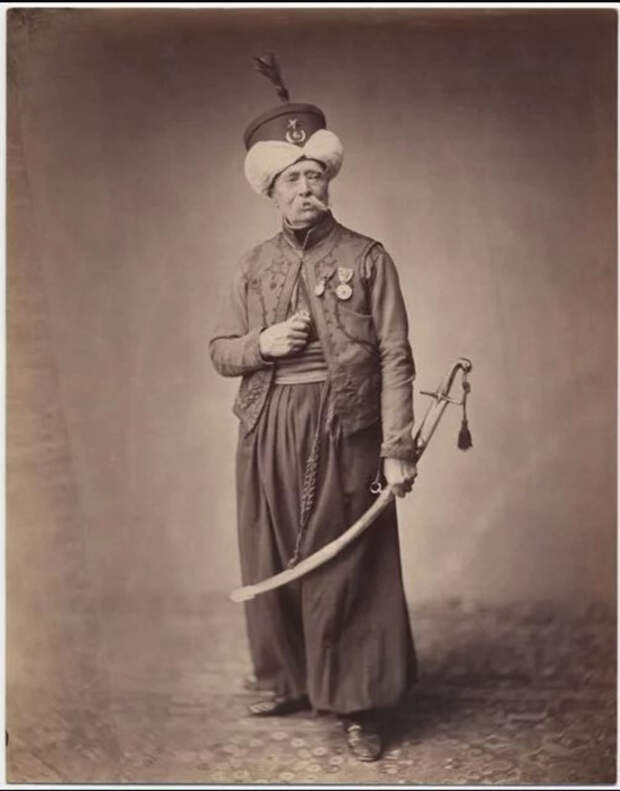 Месье Дусель Мамелюк, 1813-1815 гг. Фото: Brown University Library.