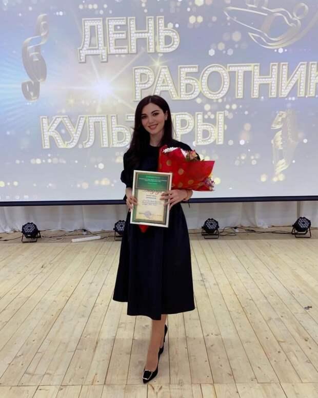 Победителем регионального конкурса «Лучший культработник — 2021» стала представительница Тахтамукайского района