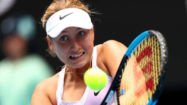 Потапова проиграла Кырсте во втором круге турнира WTA в Стамбуле
