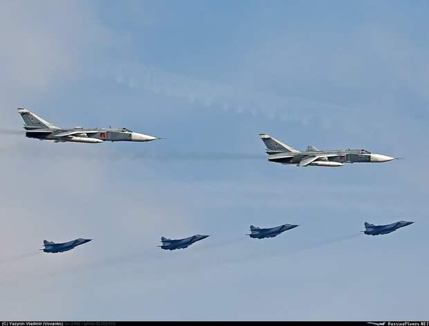 Yeni Safak: Россия отправила в Ливию 6 истребителей МиГ-29 и 2 штурмовика Су-24