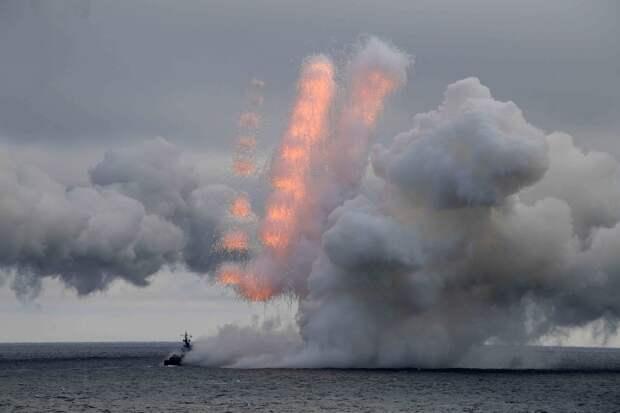 Совместные учения Северного и Черноморского флотов ВМФ РФ. Источник изображения:
