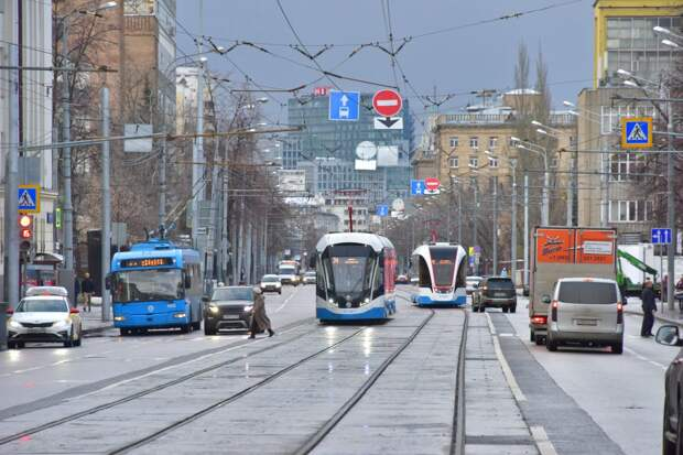 В Южное Тушино досрочно вернулся трамвай №6