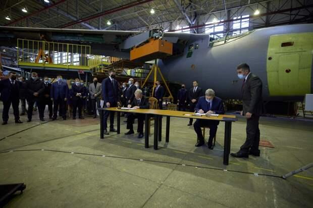 """ПО """"Антонов"""" начнет производство Ан-178 уже в этом году"""