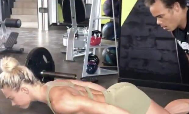 Отжимания без рук: упражнение которое почти невозможно повторить