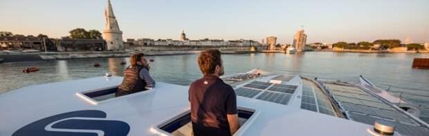 Инновационный корабль без топлива отправляется в первое путешествие