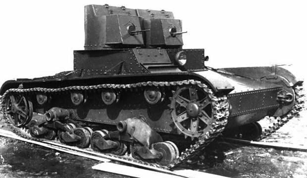 На фото – Т-26 ранних серий (то ли 1931, то ли 1932 год) военная техника, военное, история, много букв, танки, танки СССР, техника, факты