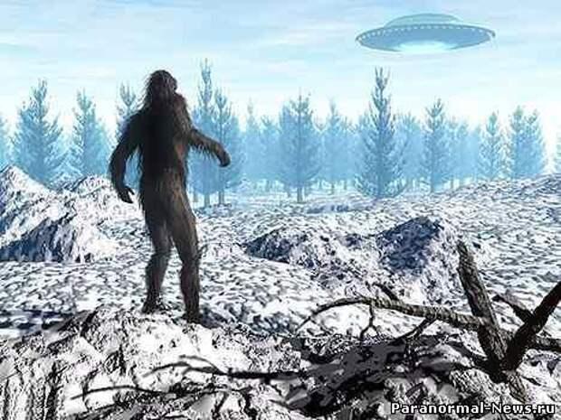 Снежный человек - пилот НЛО?