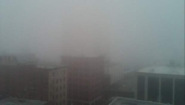 «Желтый» уровень опасности из‑за тумана продлили в Московском регионе на 3 февраля