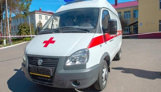 Компания Wildberries подарила Подольской больнице машину скорой помощи