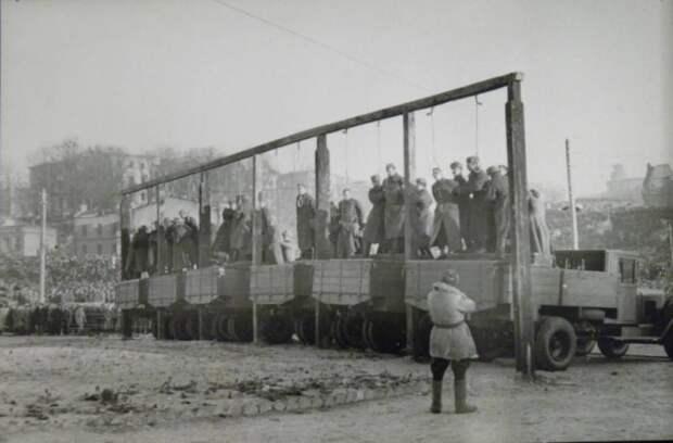 Кого и за что вешали в Советском Союзе