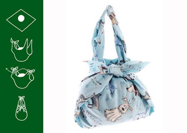 Фурошики (фуросики) - сумки и подарочная упаковка своими руками