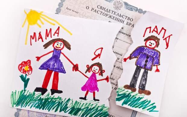 Развод и нарушения привязанности у детей.