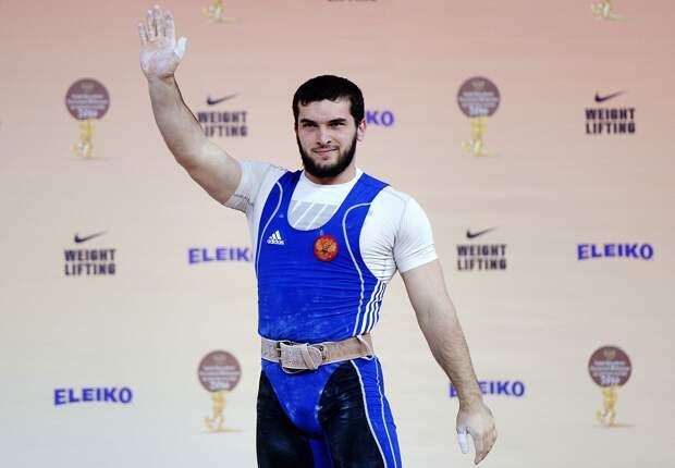 Чемпион Европы потяжелой атлетике Малигов пытался украсть продукты изсупермаркета вМоскве