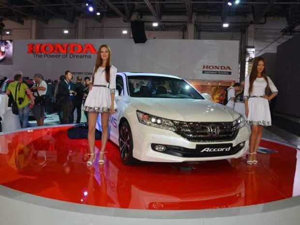 Неожиданная премьера Honda на ММАС: обновленный Accord